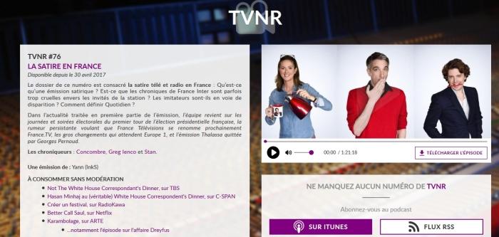 TVNR #76 - Image de couverture